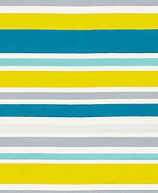 "Maritime MTM-1012 Aqua 18"" Indoor/Outdoor Square Swatch"
