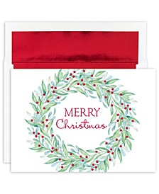 Masterpiece Studios Simple Wreath Holiday Boxed Cards