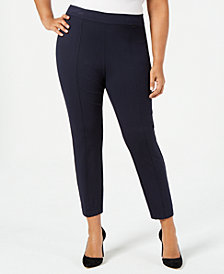 Anne Klein Plus Size Pull-On Skinny Pants