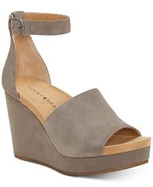 Lucky Brand Women's Yemisa Wedge Sandals