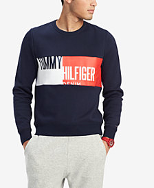 Tommy Hilfiger Men's Logo Graphic Sweatshirt, Created for Macy's