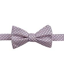 Ryan Seacrest Distinction™ Men's Sinatra Neat Pre-Tied Silk Bow Tie, Created for Macy's