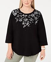 b66358fe967 Karen Scott Blouse Plus Size Tops - Macy s