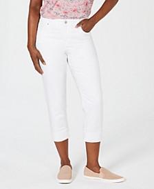 Cuffed Capri Jeans, Created for Macy's
