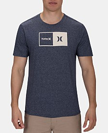 Hurley Men's Siro Natural Graphic T-Shirt