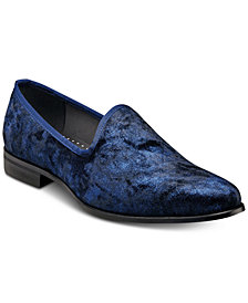 Stacy Adams Sulton Velour Slip-On Shoes