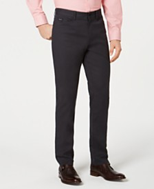 Kenneth Cole New York Men's Mini-Grid Pants