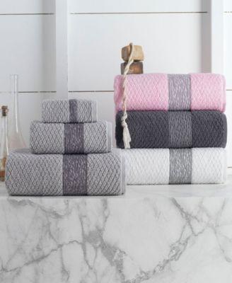 Anton 8-Pc. Hand Towels Turkish Cotton Towel Set