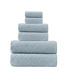 Enchante Home Gracious 6-Pc. Turkish Cotton Towel Set