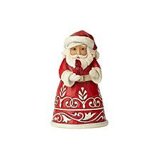 Pint Sized Santa with Cardinal