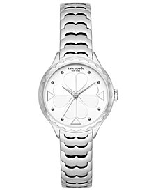 kate spade new york Women's Scallop Stainless Steel Bracelet Watch 32mm