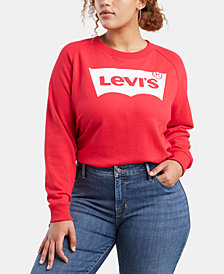 Levi's® Plus Size Logo Graphic-Print Sweatshirt