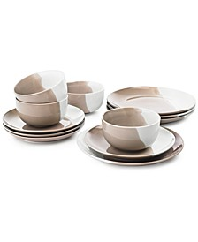 Color 12-Pc. Dinnerware Set, Service for 4, Created for Macy's