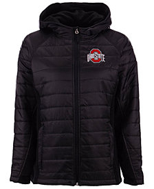 J America Women's Ohio State Buckeyes Glacier Fleece Jacket