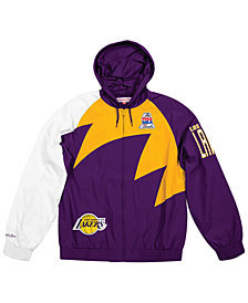 Mitchell & Ness Men's Los Angeles Lakers Shark Tooth Jacket