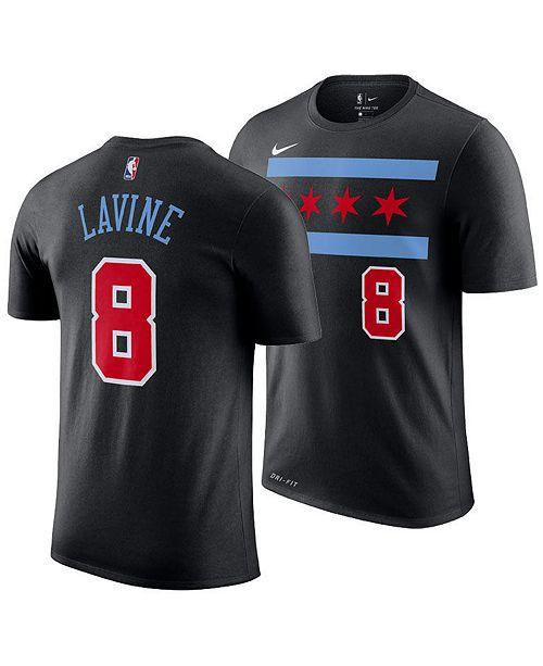 54a92866952 ... Nike Zach LaVine Chicago Bulls City Edition T-Shirt