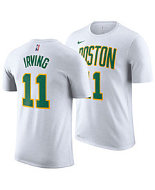 Nike Kyrie Irving Boston Celtics City Edition T-Shirt, Big Boys (8-20)
