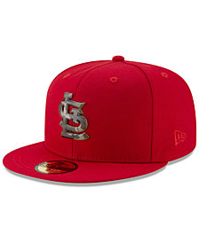 New Era St. Louis Cardinals Camo Capped 59FIFTY-FITTED Cap