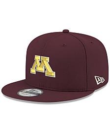 New Era Boys' Minnesota Golden Gophers Core 9FIFTY Snapback Cap