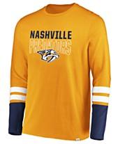 9720a42dbcd0 Majestic Men s Nashville Predators 5 Minute Major Long Sleeve T-Shirt