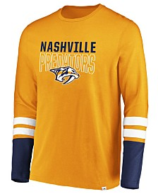 Majestic Men's Nashville Predators 5 Minute Major Long Sleeve T-Shirt
