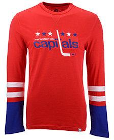 Majestic Men's Washington Capitals 5 Minute Major Long Sleeve T-Shirt