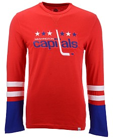 Majestic Men's Washington Capitals 5 Minute Major Long Sleeve T-Shirt