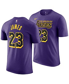 LeBron James Los Angeles Lakers City Edition T-Shirt, Big Boys (8-20)