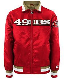 G-III Sports Men's San Francisco 49ers Starter Captain II Satin Jacket
