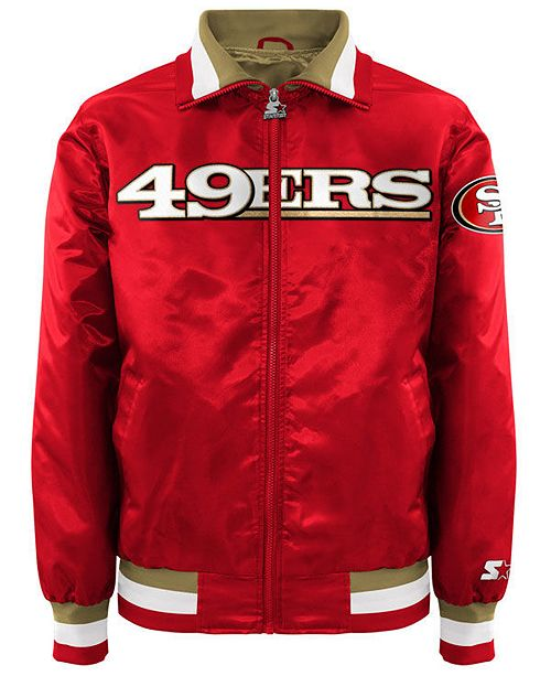 super cute b32ce 23f4e G-III Sports Men's San Francisco 49ers Starter Captain II ...