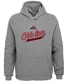Outerstuff Ohio State Buckeyes Tailsweep Hooded Sweatshirt, Little Boys (4-7)