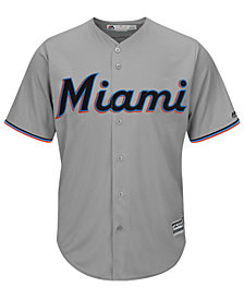 Majestic Men's Miami Marlins Blank Replica Cool Base Jersey