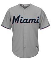 1393152b8 Majestic Men's Miami Marlins Blank Replica Cool Base Jersey