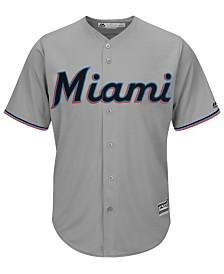 Majestic Men's Miami Marlins Blank Replica Cool Base Jersey