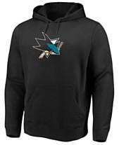 newest 0c821 b085c Majestic Men s San Jose Sharks Ice Logo Hoodie