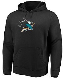 Majestic Men's San Jose Sharks Ice Logo Hoodie
