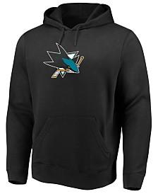 Majestic Men's San Jose Sharks Ice Logo Hoodie
