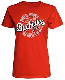 J America Women's Ohio State Buckeyes Basketball T-Shirt