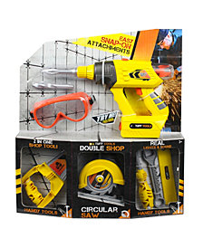 Tuff Tools Versi Tools 2 in 1 Set with Goggles