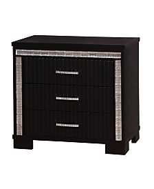 Clarice Modern 3-drawer Nightstand