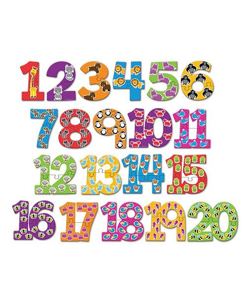 Learning Resources Number Puzzle Cards 40 Pieces