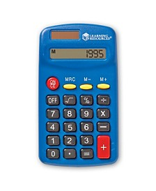 Learning Resources Primary Calculator Single