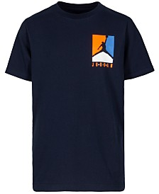 Jordan Big Boys Air Jordan-Print Cotton T-Shirt