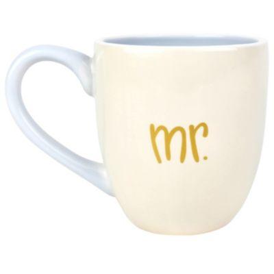 by Laura Johnson Mr. and Mrs.  Mug Set of 2