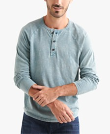 Lucky Brand Men's Long-Sleeve Henley