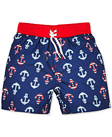 Little Me Anchor Baby Boys Swim Trunks