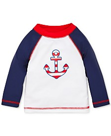 Little Me Anchor Baby Boys Rashguard