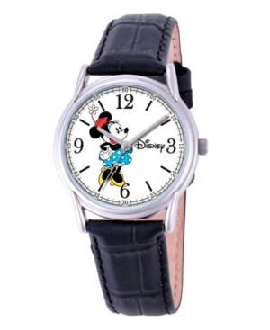 Disney Minnie Mouse Men's Cardiff Silver Alloy Watch