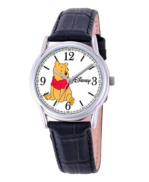ewatchfactory Disney Winnie Men's Cardiff Silver Alloy Watch