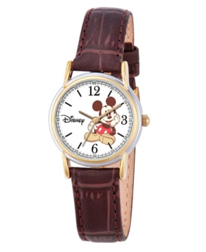 Disney Mickey Mouse Women's Cardiff Silver and Gold Alloy Watch
